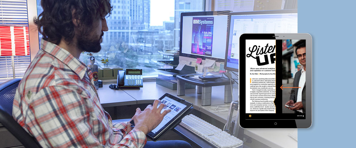 IBM Systems Magazine iPad app